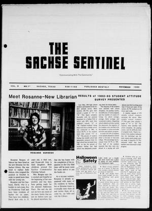 Primary view of object titled 'The Sachse Sentinel (Sachse, Tex.), Vol. 8, No. 11, Ed. 1 Tuesday, November 1, 1983'.