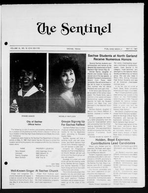 Primary view of object titled 'The Sentinel (Sachse, Tex.), Vol. 12, No. 16, Ed. 1 Wednesday, May 27, 1987'.