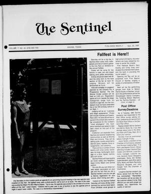 Primary view of object titled 'The Sentinel (Sachse, Tex.), Vol. 12, No. 33, Ed. 1 Wednesday, September 23, 1987'.