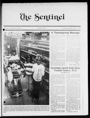 The Sentinel (Sachse, Tex.), Vol. 12, No. 42, Ed. 1 Wednesday, November 25, 1987