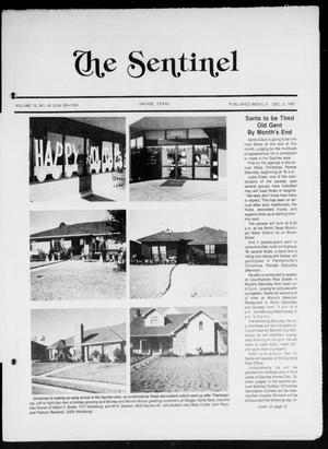 The Sentinel (Sachse, Tex.), Vol. 12, No. 43, Ed. 1 Wednesday, December 2, 1987