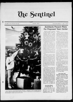 The Sentinel (Sachse, Tex.), Vol. 12, No. 44, Ed. 1 Wednesday, December 9, 1987