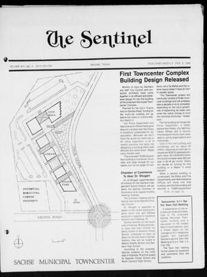 The Sentinel (Sachse, Tex.), Vol. 13, No. 5, Ed. 1 Wednesday, February 3, 1988