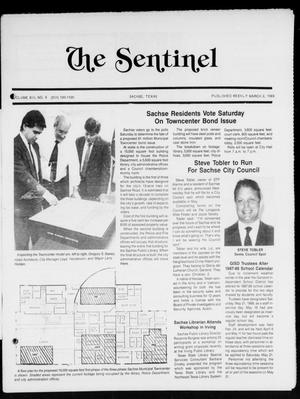Primary view of object titled 'The Sentinel (Sachse, Tex.), Vol. 13, No. 9, Ed. 1 Wednesday, March 2, 1988'.