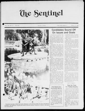 Primary view of object titled 'The Sentinel (Sachse, Tex.), Vol. 13, No. 17, Ed. 1 Wednesday, April 27, 1988'.
