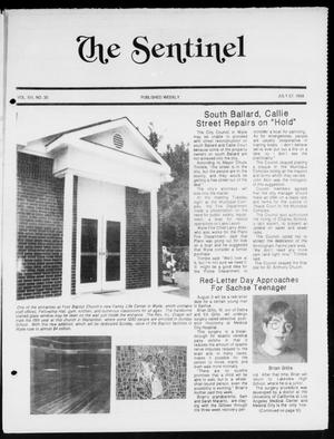 Primary view of object titled 'The Sentinel (Sachse, Tex.), Vol. 13, No. 30, Ed. 1 Wednesday, July 27, 1988'.