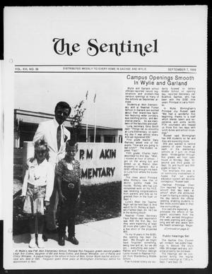 Primary view of object titled 'The Sentinel (Sachse, Tex.), Vol. 13, No. 36, Ed. 1 Wednesday, September 7, 1988'.