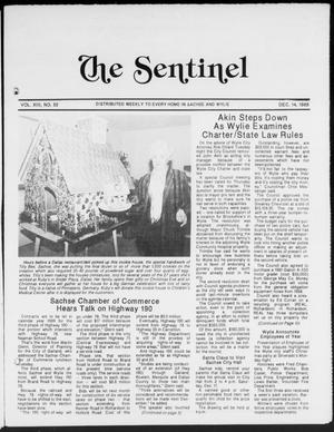 Primary view of object titled 'The Sentinel (Sachse, Tex.), Vol. 13, No. 50, Ed. 1 Wednesday, December 14, 1988'.
