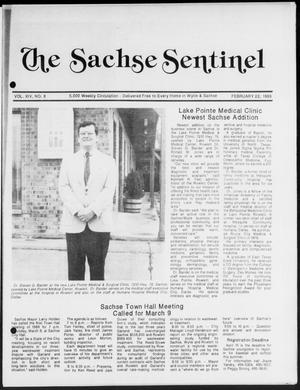 Primary view of object titled 'The Sachse Sentinel (Sachse, Tex.), Vol. 14, No. 8, Ed. 1 Wednesday, February 22, 1989'.