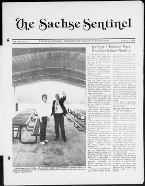 Primary view of object titled 'The Sachse Sentinel (Sachse, Tex.), Vol. 14, No. 9, Ed. 1 Wednesday, March 1, 1989'.