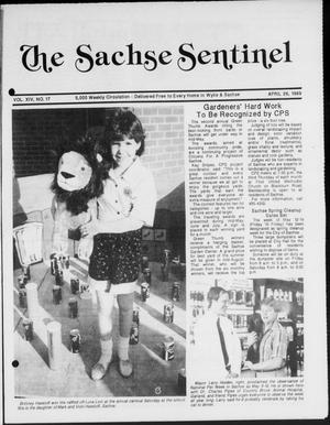 Primary view of object titled 'The Sachse Sentinel (Sachse, Tex.), Vol. 14, No. 17, Ed. 1 Wednesday, April 26, 1989'.
