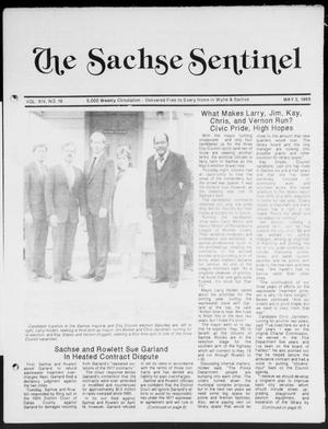 Primary view of object titled 'The Sachse Sentinel (Sachse, Tex.), Vol. 14, No. 18, Ed. 1 Wednesday, May 3, 1989'.
