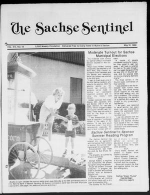 Primary view of object titled 'The Sachse Sentinel (Sachse, Tex.), Vol. 14, No. 19, Ed. 1 Wednesday, May 10, 1989'.