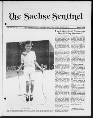 Primary view of object titled 'The Sachse Sentinel (Sachse, Tex.), Vol. 14, No. 22, Ed. 1 Wednesday, May 31, 1989'.