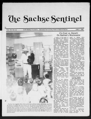 Primary view of object titled 'The Sachse Sentinel (Sachse, Tex.), Vol. 14, No. 23, Ed. 1 Wednesday, June 7, 1989'.