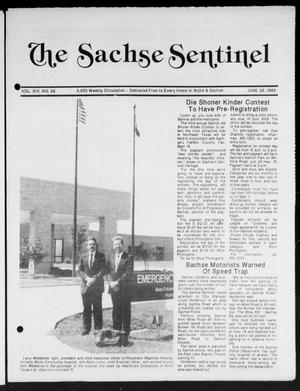 Primary view of object titled 'The Sachse Sentinel (Sachse, Tex.), Vol. 14, No. 26, Ed. 1 Wednesday, June 28, 1989'.