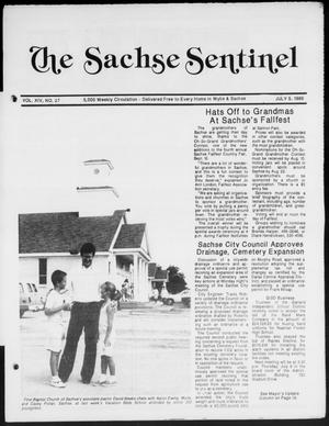 Primary view of object titled 'The Sachse Sentinel (Sachse, Tex.), Vol. 14, No. 27, Ed. 1 Wednesday, July 5, 1989'.