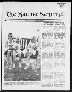 Primary view of object titled 'The Sachse Sentinel (Sachse, Tex.), Vol. 14, No. 29, Ed. 1 Wednesday, July 19, 1989'.
