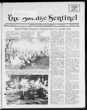 Primary view of object titled 'The Sachse Sentinel (Sachse, Tex.), Vol. 14, No. 32, Ed. 1 Wednesday, August 9, 1989'.