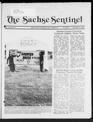 Primary view of object titled 'The Sachse Sentinel (Sachse, Tex.), Vol. 14, No. 42, Ed. 1 Wednesday, October 18, 1989'.