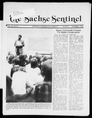Primary view of object titled 'The Sachse Sentinel (Sachse, Tex.), Vol. 14, No. 44, Ed. 1 Wednesday, November 1, 1989'.