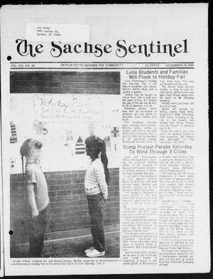 Primary view of object titled 'The Sachse Sentinel (Sachse, Tex.), Vol. 14, No. 48, Ed. 1 Wednesday, November 29, 1989'.