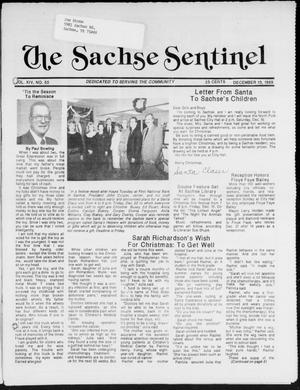 Primary view of object titled 'The Sachse Sentinel (Sachse, Tex.), Vol. 14, No. 50, Ed. 1 Wednesday, December 13, 1989'.
