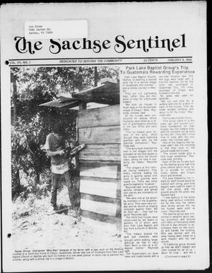 Primary view of object titled 'The Sachse Sentinel (Sachse, Tex.), Vol. 15, No. 1, Ed. 1 Wednesday, January 3, 1990'.
