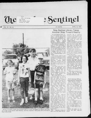 Primary view of object titled 'The Sachse Sentinel (Sachse, Tex.), Vol. 15, No. 16, Ed. 1 Wednesday, April 18, 1990'.
