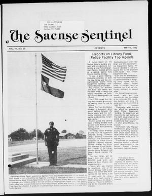 Primary view of object titled 'The Sachse Sentinel (Sachse, Tex.), Vol. 15, No. 20, Ed. 1 Wednesday, May 16, 1990'.