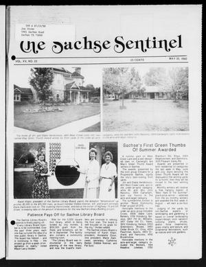 Primary view of object titled 'The Sachse Sentinel (Sachse, Tex.), Vol. 15, No. 22, Ed. 1 Wednesday, May 30, 1990'.