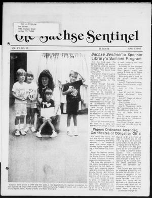 Primary view of object titled 'The Sachse Sentinel (Sachse, Tex.), Vol. 15, No. 23, Ed. 1 Wednesday, June 6, 1990'.
