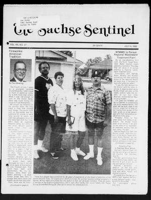 Primary view of object titled 'The Sachse Sentinel (Sachse, Tex.), Vol. 15, No. 27, Ed. 1 Wednesday, July 4, 1990'.