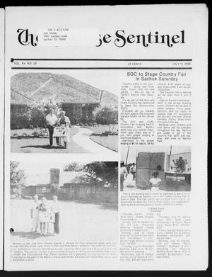 Primary view of object titled 'The Sachse Sentinel (Sachse, Tex.), Vol. 15, No. 28, Ed. 1 Wednesday, July 11, 1990'.