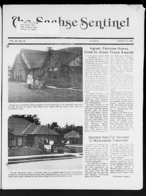Primary view of object titled 'The Sachse Sentinel (Sachse, Tex.), Vol. 15, No. 32, Ed. 1 Wednesday, August 8, 1990'.
