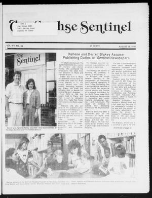 Primary view of object titled 'The Sachse Sentinel (Sachse, Tex.), Vol. 15, No. 33, Ed. 1 Wednesday, August 15, 1990'.