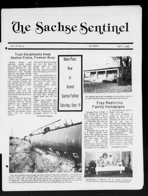 Primary view of object titled 'The Sachse Sentinel (Sachse, Tex.), Vol. 15, No. 36, Ed. 1 Wednesday, September 5, 1990'.