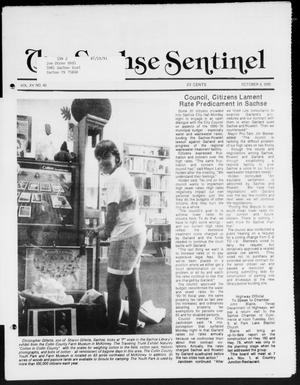 Primary view of object titled 'The Sachse Sentinel (Sachse, Tex.), Vol. 15, No. 40, Ed. 1 Wednesday, October 3, 1990'.