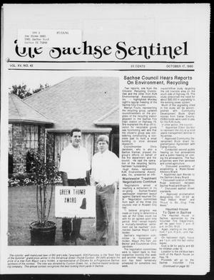 Primary view of object titled 'The Sachse Sentinel (Sachse, Tex.), Vol. 15, No. 42, Ed. 1 Wednesday, October 17, 1990'.
