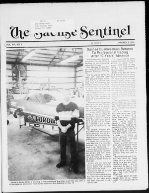 Primary view of object titled 'The Sachse Sentinel (Sachse, Tex.), Vol. 16, No. 2, Ed. 1 Wednesday, January 9, 1991'.