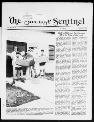 Primary view of object titled 'The Sachse Sentinel (Sachse, Tex.), Vol. 16, No. 10, Ed. 1 Wednesday, March 6, 1991'.
