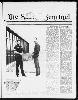 Primary view of object titled 'The Sachse Sentinel (Sachse, Tex.), Vol. 16, No. 11, Ed. 1 Wednesday, March 13, 1991'.