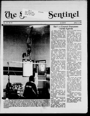 Primary view of object titled 'The Sachse Sentinel (Sachse, Tex.), Vol. 16, No. 16, Ed. 1 Wednesday, April 17, 1991'.