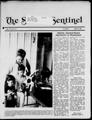 Primary view of object titled 'The Sachse Sentinel (Sachse, Tex.), Vol. 16, No. 19, Ed. 1 Wednesday, May 8, 1991'.