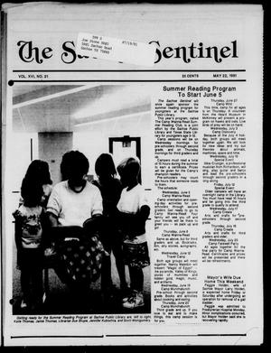 Primary view of object titled 'The Sachse Sentinel (Sachse, Tex.), Vol. 16, No. 21, Ed. 1 Wednesday, May 22, 1991'.