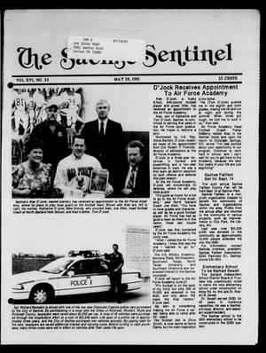 Primary view of object titled 'The Sachse Sentinel (Sachse, Tex.), Vol. 16, No. 22, Ed. 1 Wednesday, May 29, 1991'.
