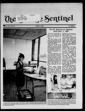 Primary view of object titled 'The Sachse Sentinel (Sachse, Tex.), Vol. 16, No. 24, Ed. 1 Wednesday, June 12, 1991'.
