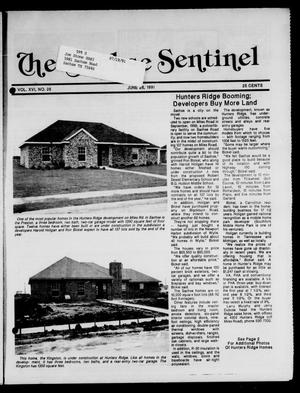 Primary view of object titled 'The Sachse Sentinel (Sachse, Tex.), Vol. 16, No. 26, Ed. 1 Wednesday, June 26, 1991'.