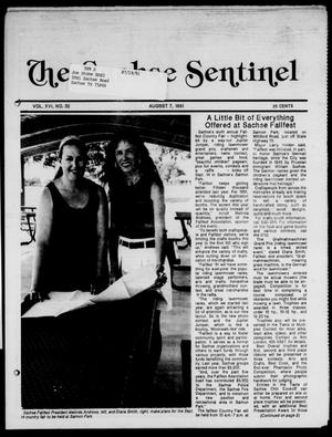 Primary view of object titled 'The Sachse Sentinel (Sachse, Tex.), Vol. 16, No. 32, Ed. 1 Wednesday, August 7, 1991'.