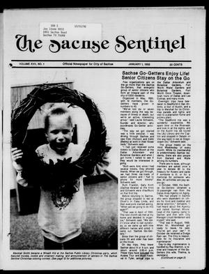 Primary view of object titled 'The Sachse Sentinel (Sachse, Tex.), Vol. 17, No. 1, Ed. 1 Wednesday, January 1, 1992'.